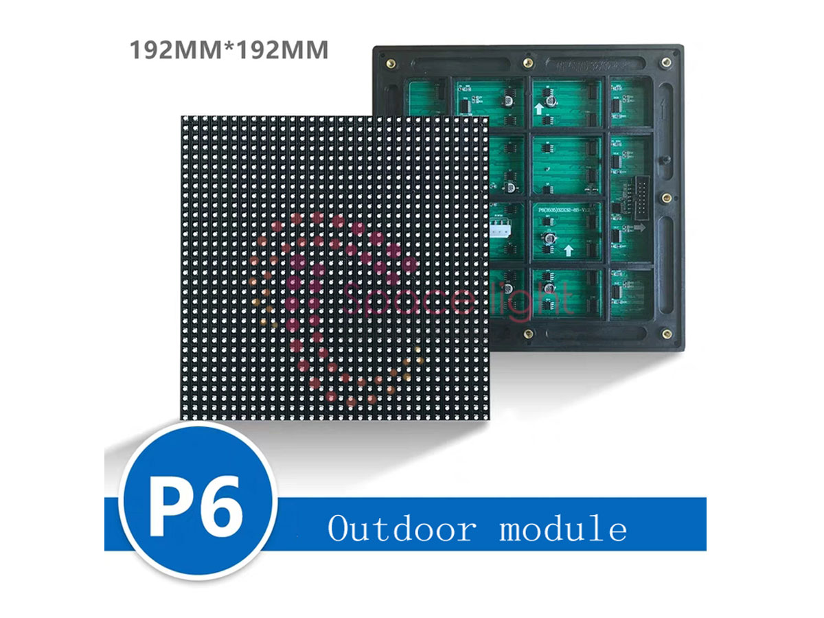 Tấm Module Led Outdoor P6