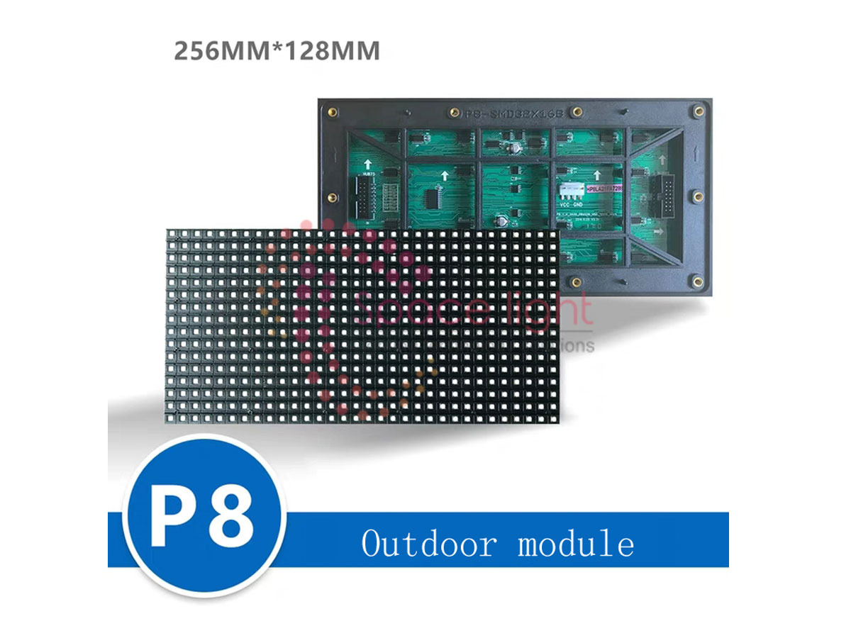 Tấm Module Led Outdoor P8